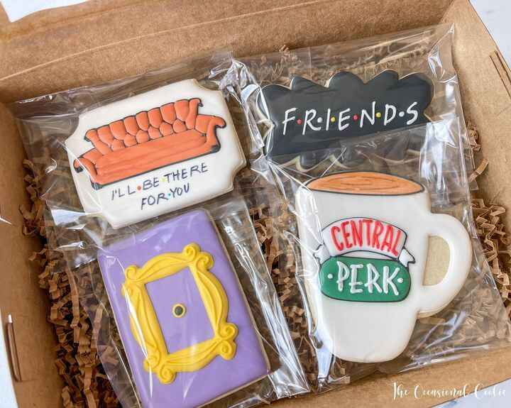 I have an extra set of Friends Cookies if anyone is interested!  Sold