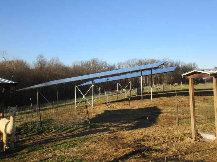 Our efforts to make the Farm and Mill a little Greener is well underway. The frame and panels are almost done and some o...