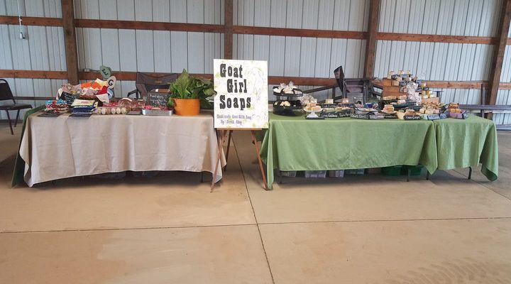 Set up and ready to serve you at Augusta Hills LRCC in Albion.